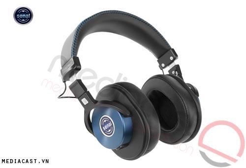Tai nghe kiểm âm chuyên dụng Seanal SMH-1200 (Xanh nước biển)