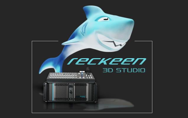 GIẢI PHÁP TRƯỜNG QUAY ẢO 3D RECKEEN 3D STUDIO