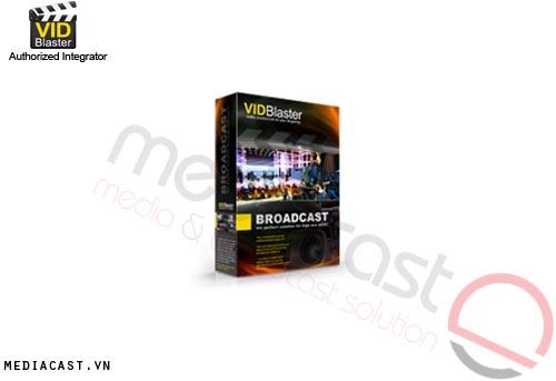 Phần mềm sản xuất video VidBlaster Broadcast