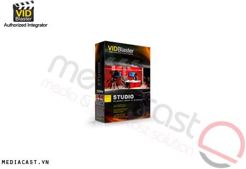 Phần mềm sản xuất video VidBlaster Studio
