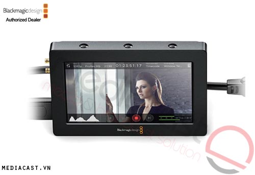 Bộ ghi video Blackmagic Design Video Assist Monitor Recoder