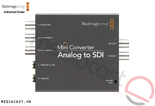 Blackmagic Design Mini Converter Analog to SDI