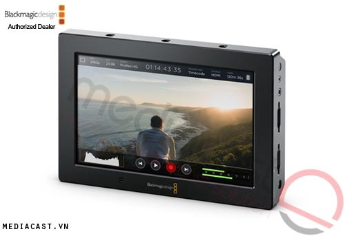 Bộ ghi video Blackmagic Design Video Assist 4K Monitor Recoder