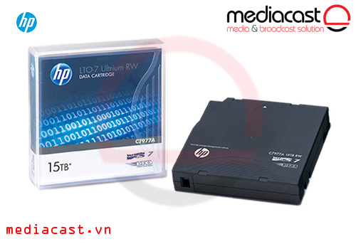 Băng từ LTO-7 HP LTO-7 Ultrium 15TB RW Data Cartridge