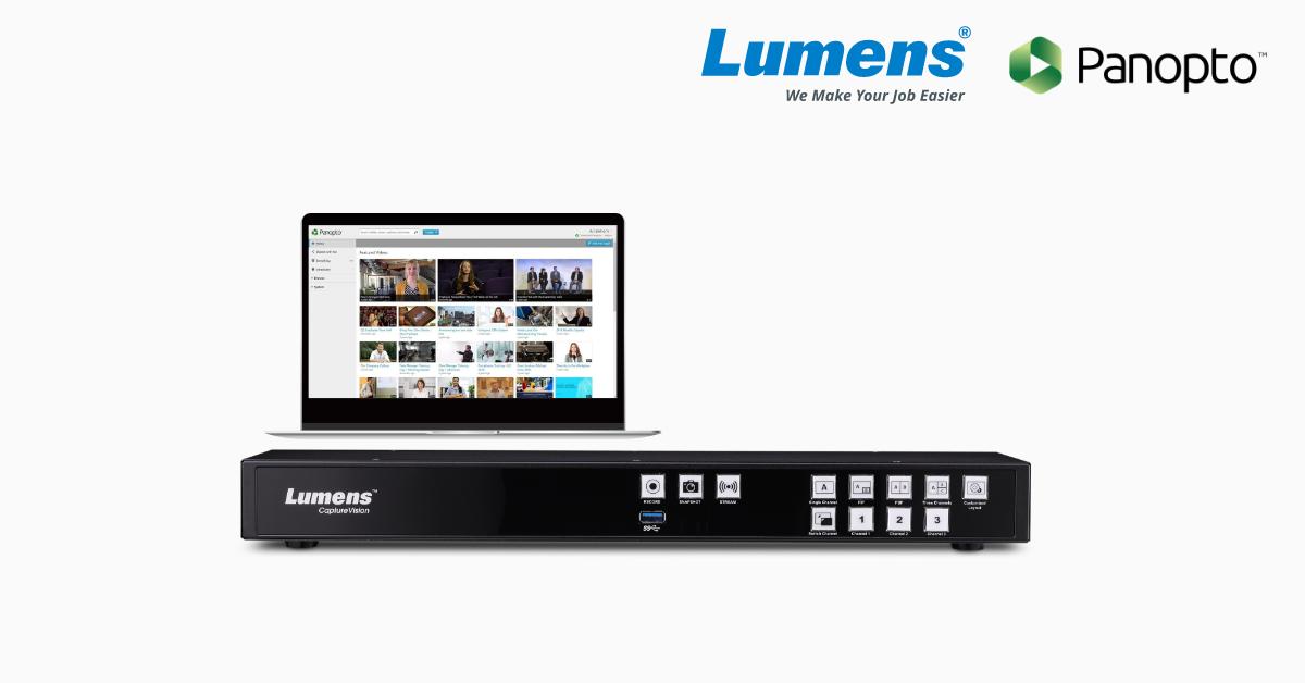 Panopto và Lumens hợp tác trong lĩnh vực Quản lý video