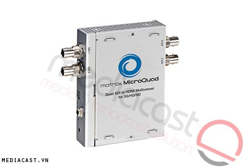 Multiview Matrox MicroQuad