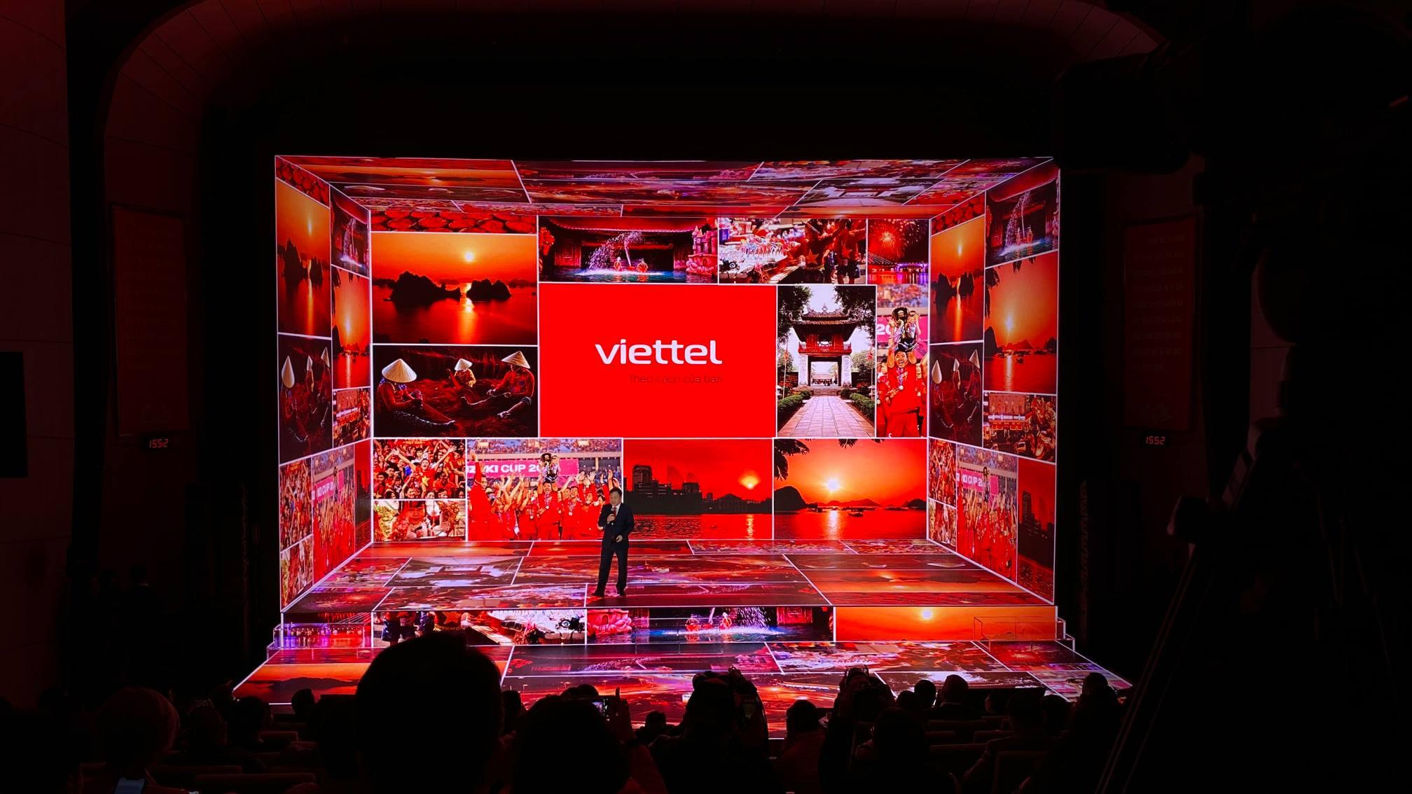 Công nghệ trình chiếu xR/ 5D của Disguise được sử dụng trong lễ ra mắt bộ nhận diện thương hiệu mới của Viettel