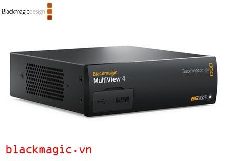 [Reivew] Blackmagic MultiView 4 - Giải pháp giám sát nhiều nguồn Video SDI giá rẻ