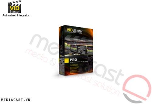 Phần mềm sản xuất video VidBlaster Pro