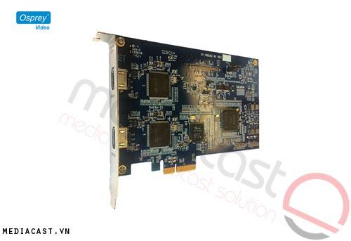 Card capture hình ảnh Osprey 821e với phần mềm SimulStream