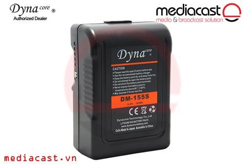 Pin máy quay V-Mount Dynacore DM-155S 155Wh