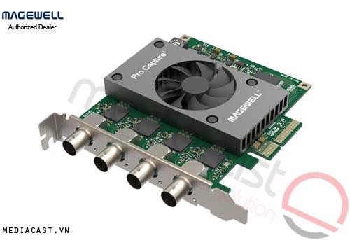Card Captue hình ảnh Magewell Pro Capture Quad SDI 4 Kênh