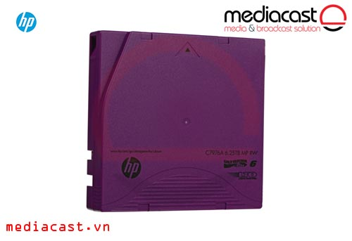 Băng từ LTO-6 HP 6.25TB LTO-6 Ultrium RW Data Cartridge
