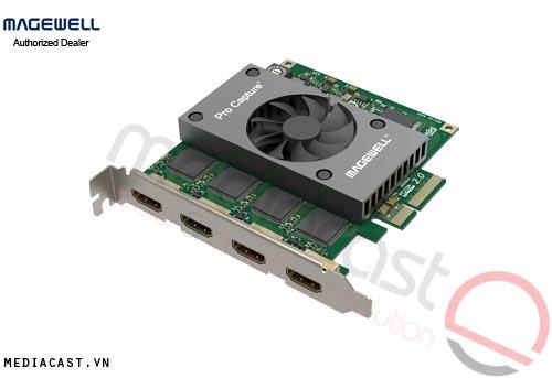 Card Captue hình ảnh Magewell Pro Capture Quad HDMI 4 Kênh