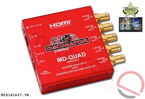 MultiView Decimator MD-Quad