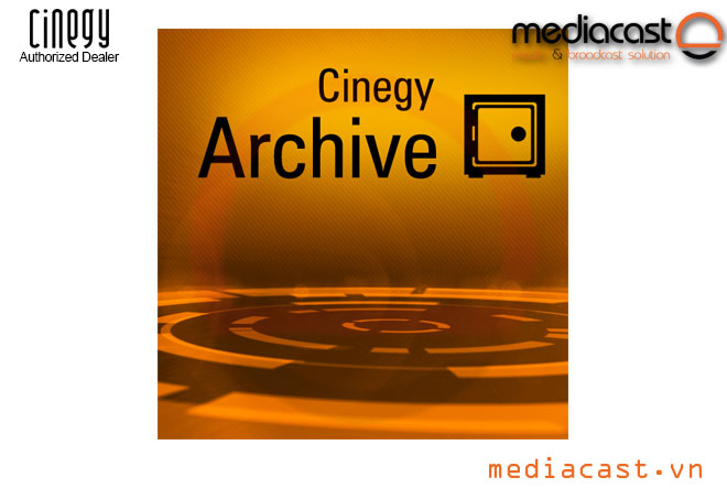 Cinegy Archive MAM