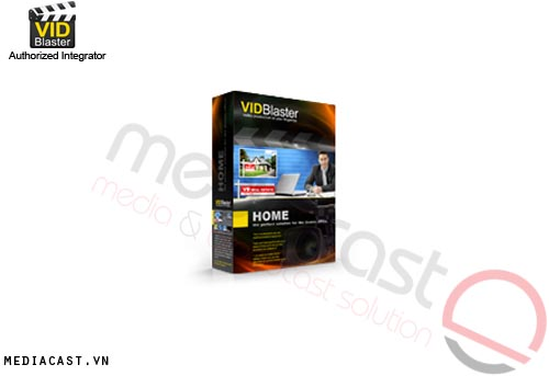 Phần mềm sản xuất video VidBlaster Home