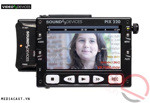 Bộ ghi Video Video Devices PIX 220 Video Recorder