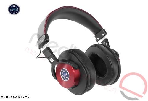 Tai nghe kiểm âm chuyên dụng Seanal SMH-1200 (Đỏ Bóc-đô)