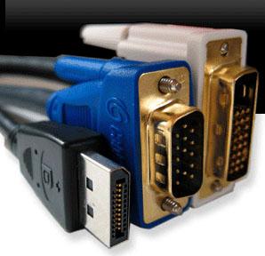 Các loại giao diện hiển thị Video - phần 1: VGA, HDMI, DVI, Displayport