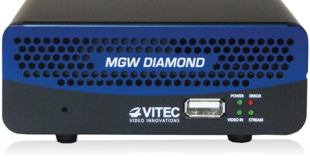 Hệ sinh thái HEVC mở rộng của VITEC được trưng bày tại Triển lãm NAB với sự ra mắt của bộ mã hóa MGW DIAMOND