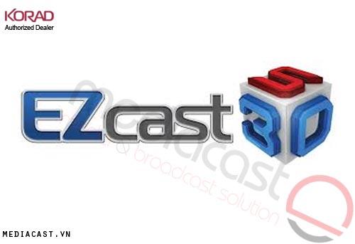 Hệ thống trường quay ảo KORAD 3D Trackless EZCAST